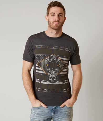 Affliction Freedom Defender Iron Eagle T-Shirt