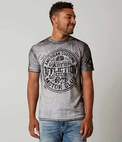Affliction American Customs Garage Spirit T-Shirt