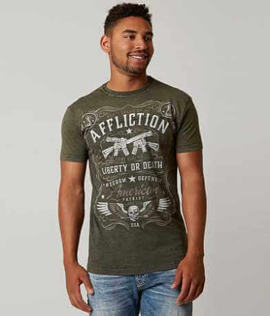 Affliction Don't Tread Reversible T-Shirt