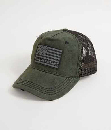 Affliction Freedom Defender Americana Trucker Hat