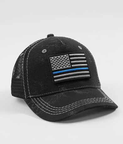 Affliction A4 Police Trucker Hat