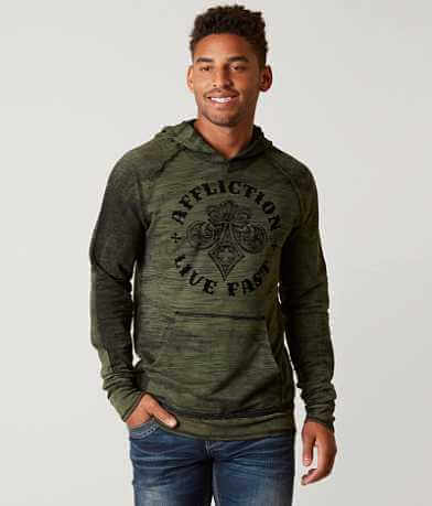 Affliction Royale Reversible Sweatshirt