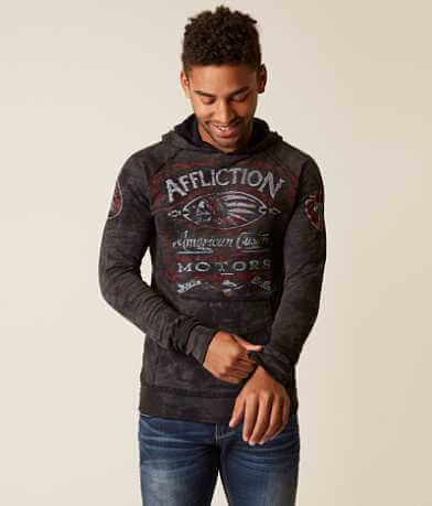 Affliction Prohibition Reversible Sweatshirt