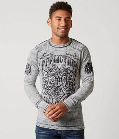 Affliction Ironside Reversible Thermal Shirt