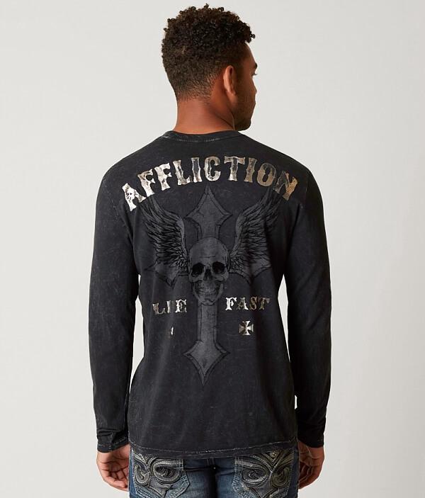 Vintage T Affliction Shirt Live Fast qOaxnwvH