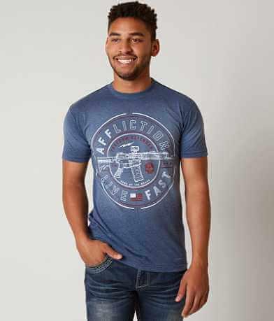 Affliction Freedom Defender Live Fast 5.5 T-Shirt