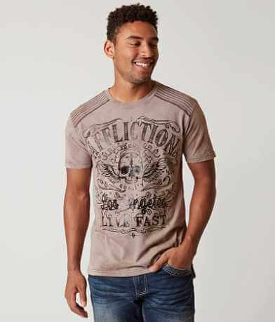 Affliction Sketch Death T-Shirt