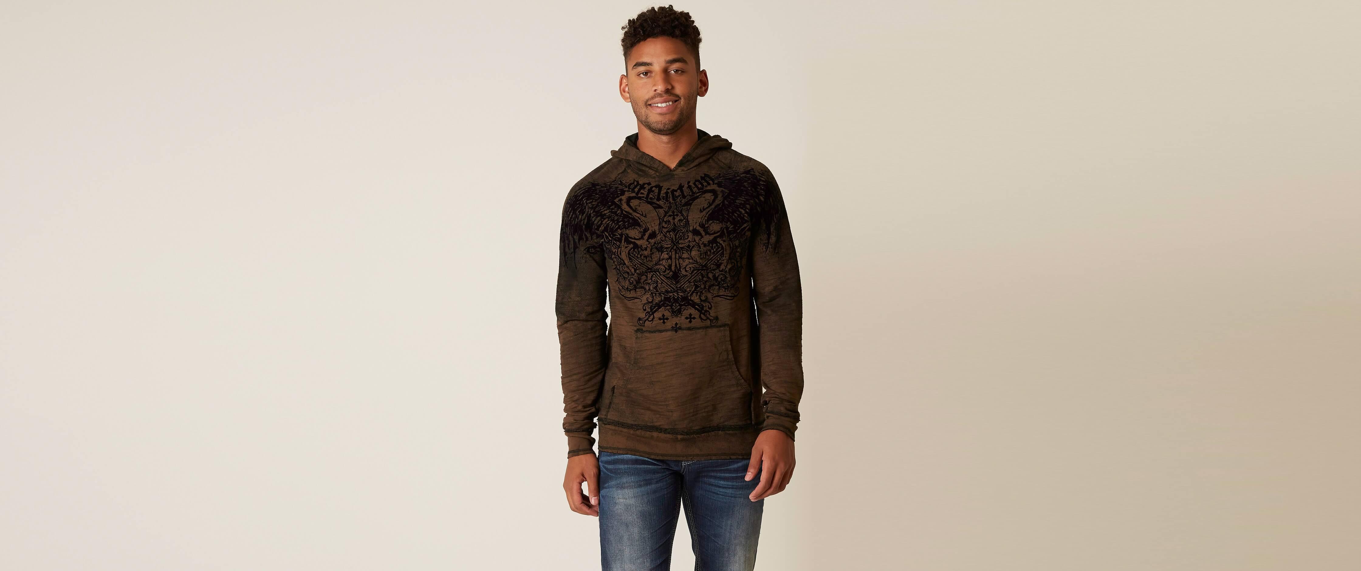 Affliction Sword Eater Reversible Sweatshirt