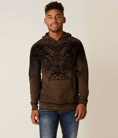 Affliction Sword Eater Reversible Sweatshirt