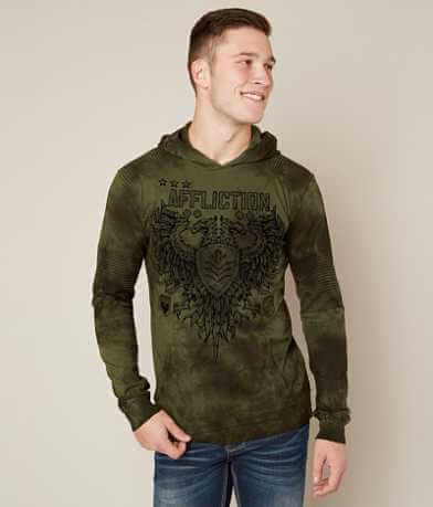 Affliction Value Chalkboard Hoodie