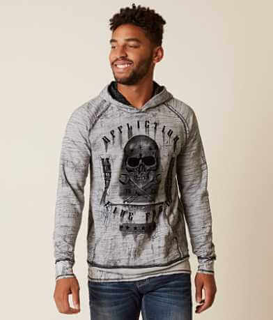 Affliction On The Tracks Reversible Hoodie