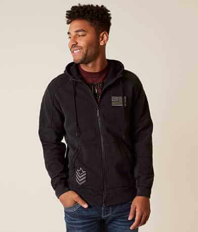Affliction Eagle Keeper Hooded Sweatshirt