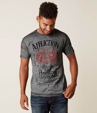 Affliction American Customs Tried Custom T-Shirt
