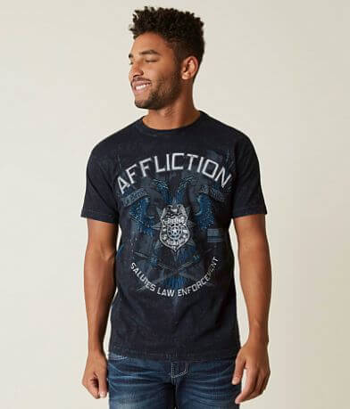 Affliction Line Of Duty T-Shirt