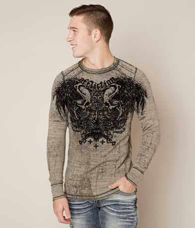 Affliction Sword Eater Reversible Thermal Shirt