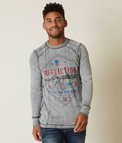 Affliction Freedom Defender Six Thermal T-Shirt