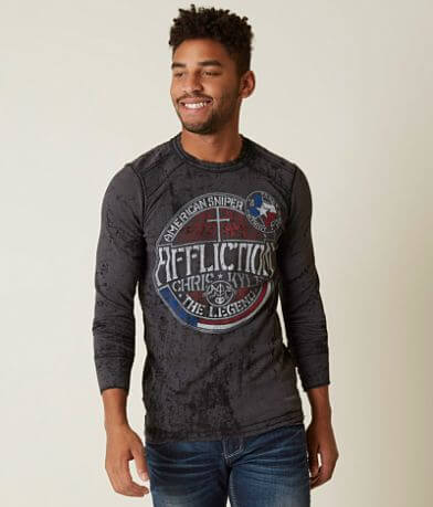 Affliction Frogman Thermal Shirt