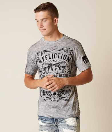 Affliction Don't Tread T-Shirt