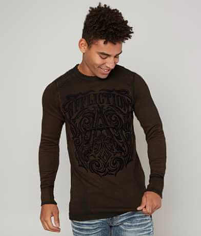 Affliction Causeway Reversible Thermal T-Shirt