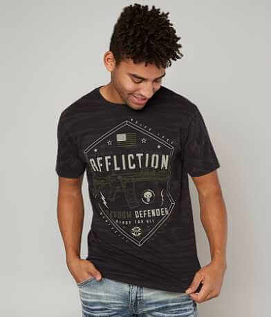 Affliction Freedom Defender Six Camo T-Shirt
