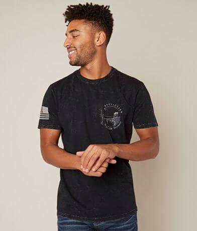 Affliction Warrior Spirit T-Shirt - Men's T-Shirts in Black