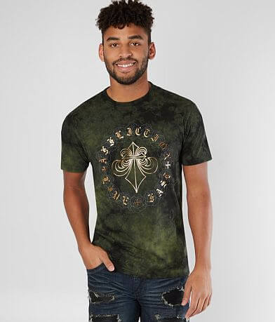 Affliction Circle Of Roses T-Shirt