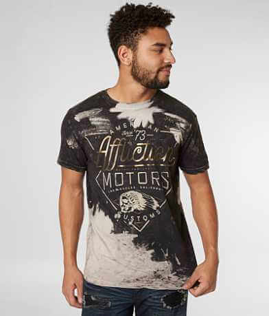 Affliction American Customs Cali Motors T-Shirt