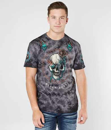 Affliction Pierced Rose T-Shirt