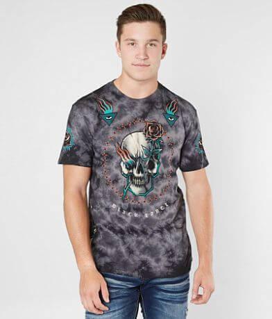 Affliction Pierced Rose T-Shirt