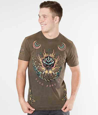 Affliction Chained To The Night T-Shirt