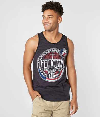 Affliction Frogman Tank Top