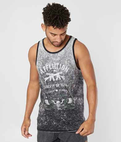Affliction Don't Tread Reversible Tank Top