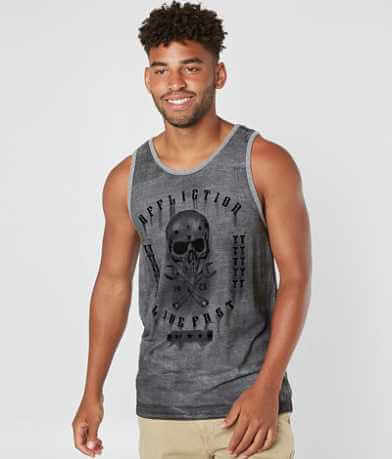Affliction American Customs On The Tracks Tank Top
