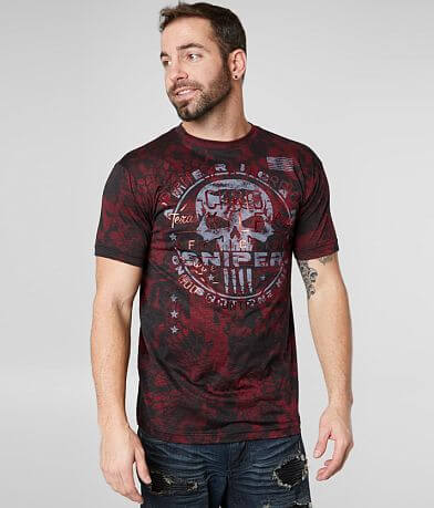 Affliction Cover Fire T-Shirt