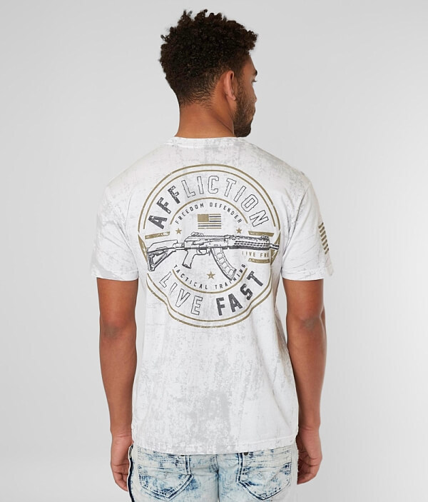 Affliction T Affliction Freedom Mission Freedom Mission Shirt T Shirt Affliction Freedom rgArqZ