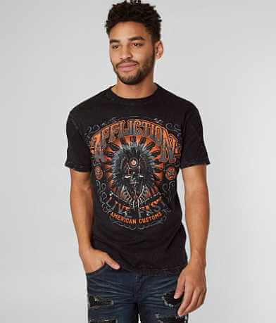 Affliction American Customs Molten Tribe T-Shirt