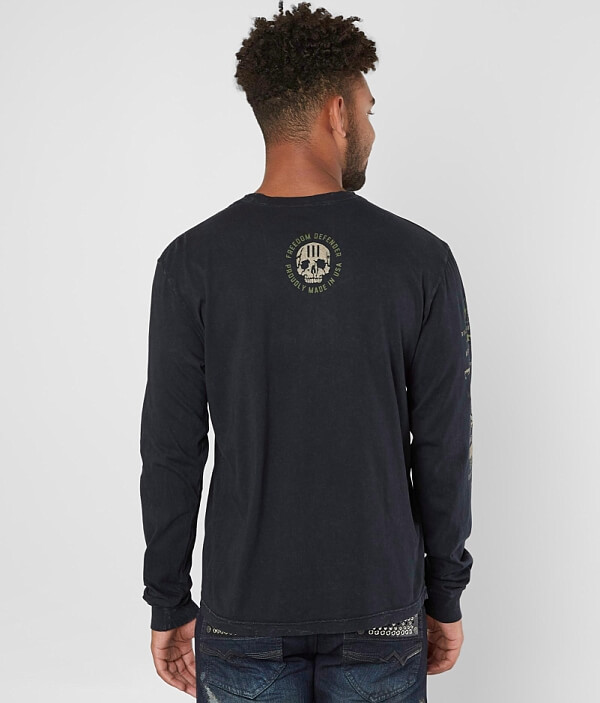 Shirt Affliction Ready Freedom Defender T OOI4Cfq