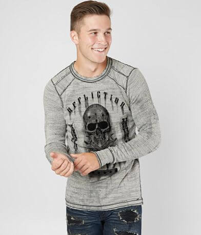 Affliction On The Tracks Dusk Thermal Shirt