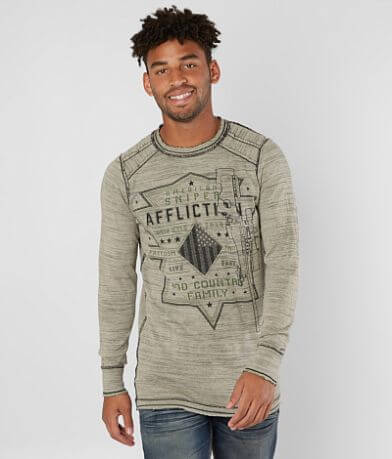 Affliction Rifleman Reversible Thermal Shirt