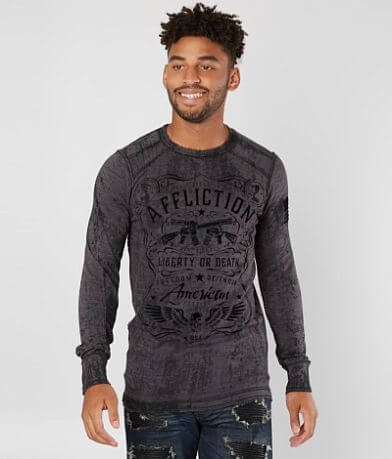 Affliction Don't Tread Thermal Shirt