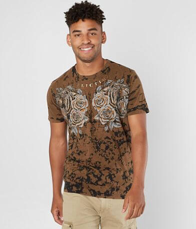 Affliction Tiger Rose T-Shirt