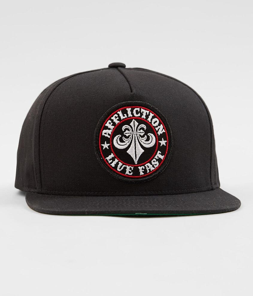 Embroidered patch snapback hat One size fits most