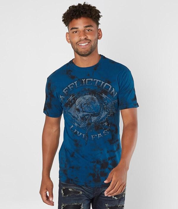 T Affliction Warpath Affliction Shirt Chalkboard Warpath WZTPnxRqf