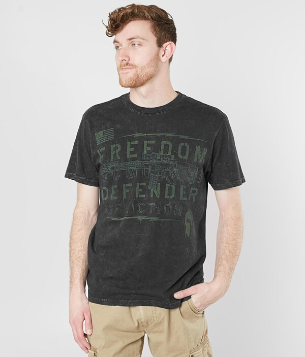 Defender T Freedom Shirt Affliction Push ZWfxHw5xqz