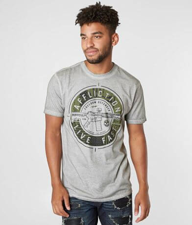 Affliction Freedom Defender Forged Freedom T-Shirt