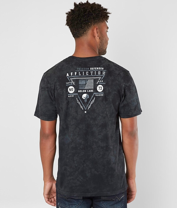 Freedom Defender Shirt T Tactical Affliction wqOPxZYw