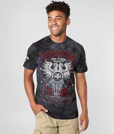 Affliction Tried Custom Motors T-Shirt