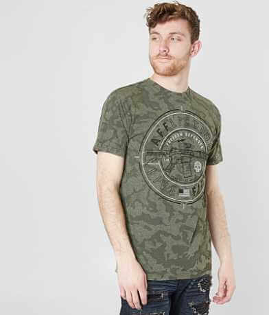 Affliction Freedom Defender Live Fast T-Shirt