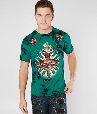 Affliction Hearts Afire T-Shirt