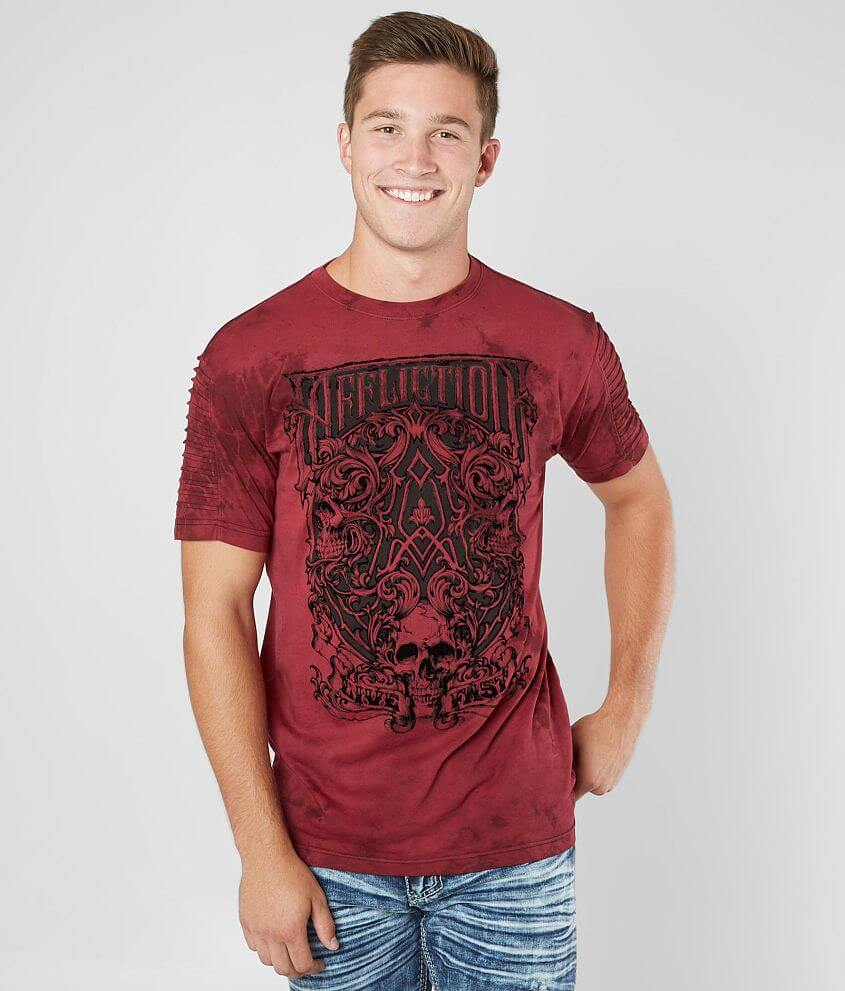 AFFLICTION T-Shirt CAST INTO